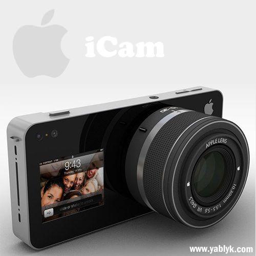 Дизайнерская камера - Apple iCam [Концепт]