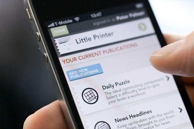 Little Printer для iPhone [Аксессуары]