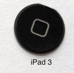 """Сенсорной кнопки """"Home"""" не будет в iPad 3? [Слухи]"""