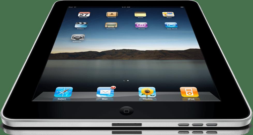 iPad десятилетней давности