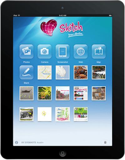 Evernote Skitch - призван помогать людям [Обзор / Скачать]