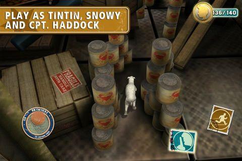 The Adventures of Tintin: The Secret of the Unicorn для iPhone, iPod Touch и iPad  [Скачать / Обзор / App Store]