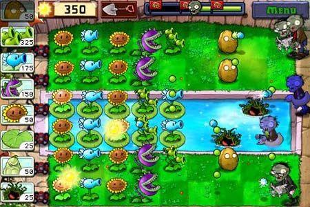 Plants vs. Zombies 1.9 для iPhone, iPod Touch и IPad [Скачать / Обзор / App Store]