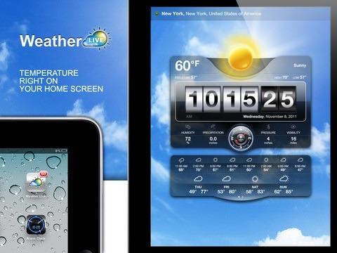 Live Weather - метеорологическая база в Вашем iPad [Обзор / Скачать / App Store]
