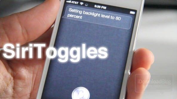 Скачать SiriToggles: управление яркостью и другими настройками на iPhone 4S с помощью Siri [Обзор / Видео / Скачать]