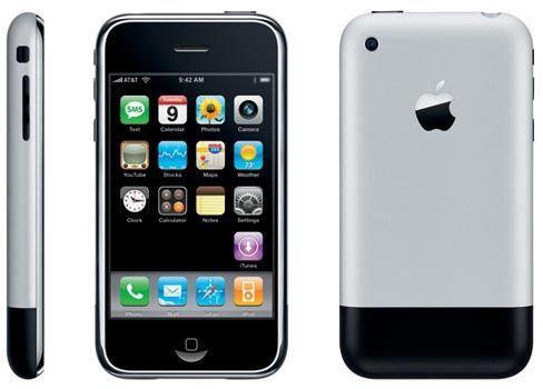 9 января 2007 года Стив Джобс показал iPhone первого поколения [Видео]