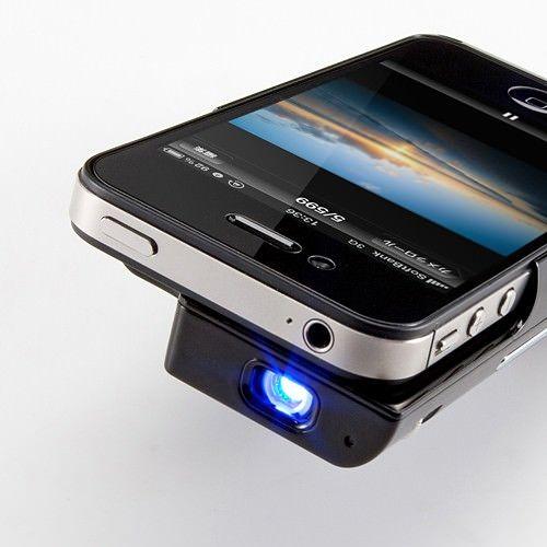 400-PRJ011 - микропроектор от Sanwa для iPhone, и подзарядит и покажет [Аксессуары]