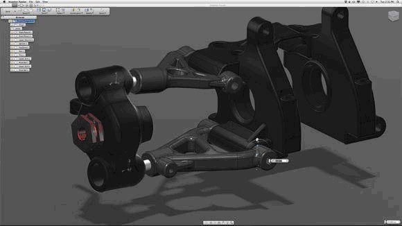 Autodesk представил новый продукт для Mac OS X - Autodesk Inventor Fusion