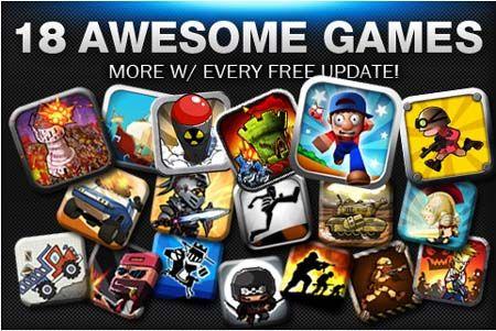 Gamebox 2 для iPhone, iPod Touch и IPad [Скачать / Обзор / App Store]