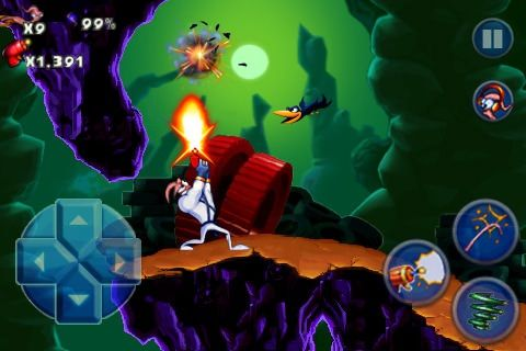 Earthworm Jim для iPhone, iPod Touch, IPad [Скачать / Обзор / App Store]
