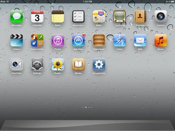 Springtomize 2 iphone ipad
