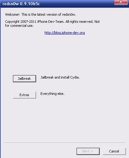 Скачать Redsn0w 0.9.10b5c для iPhone 4, iPhone 3GS, iPhone 3G, IPad и iPod Touch [Скачать]