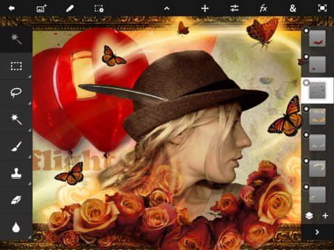 Adobe Photoshop Touch для IPad [Скачать / App Store]