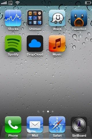 SiriBoard позволяет открывать Siri с домашнего экрана iPhone [Скачать / Cydia / Обзор]