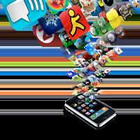 Количество новых приложений для App Store значительно опережает Android Market