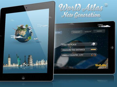 Скачать World Atlas 2: New Generation - мобильный путеводитель по миру!
