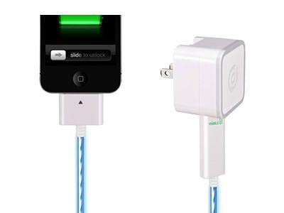 Dexim Visible Smart Charger - оригинальное светящееся зарядное устройство