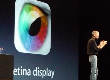 Сравнение экранов iPhone и iPad 2 с Retina-дисплеем iPad 3 [Фото]