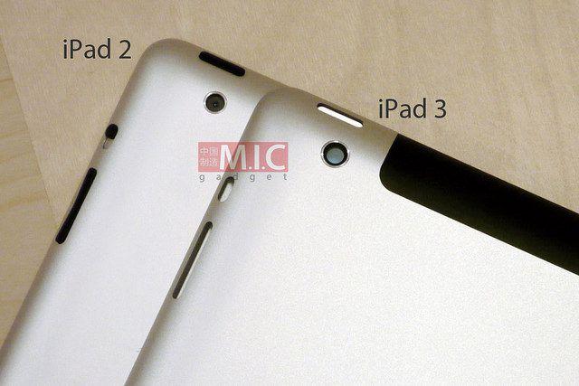 Разница между IPad 2 и IPad 3 на фото