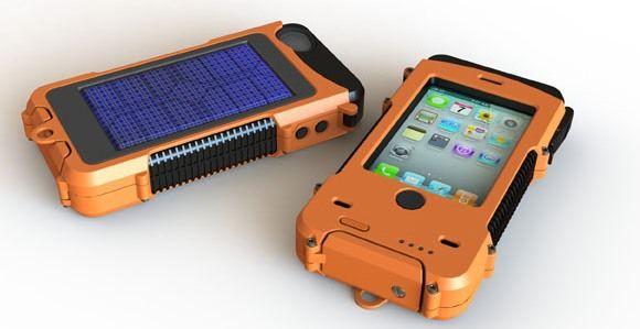 Противоударный чехол с зарядкой для iPhone 4S