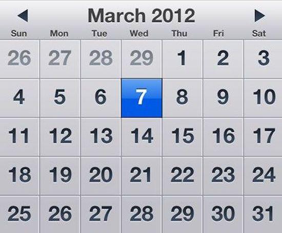 iPad 3 выйдет 7 марта