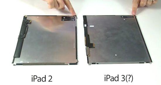 iFixit о новом Retina дисплее iPad 3 [Видео]