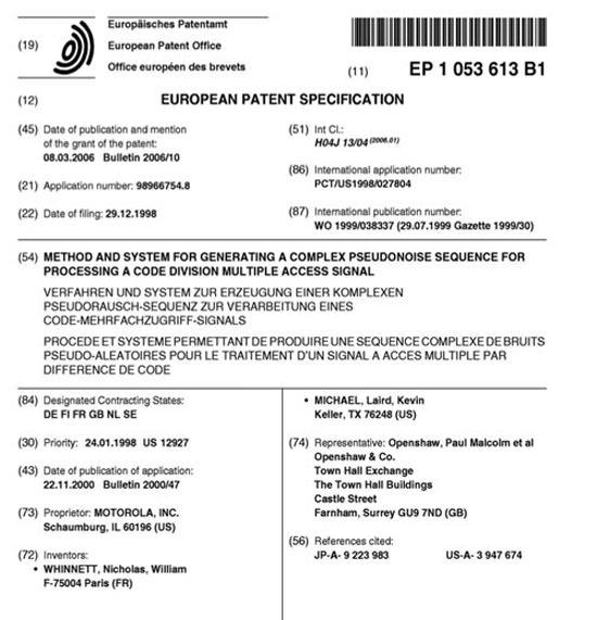 Пока немецкий суд оправдывал Apple, она судилась с Motorola в американском суде