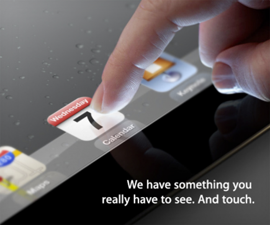 Официально! iPad 3 выйдет 7 марта в Сан-Франциско