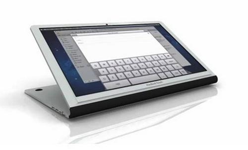 MacBook Touch - ноутбук с сенсорным экраном? [Видео / Концепт]