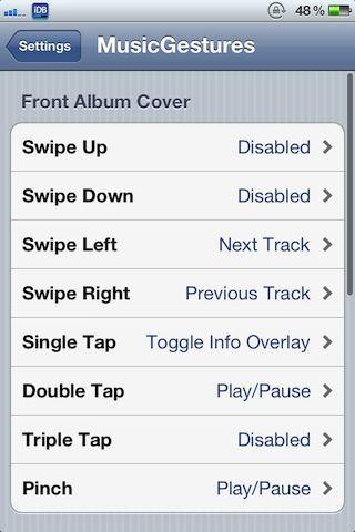 Твик MusicGestures позволяет управлять музыкой с помощью жестов [Скачать / Cydia / Обзор]