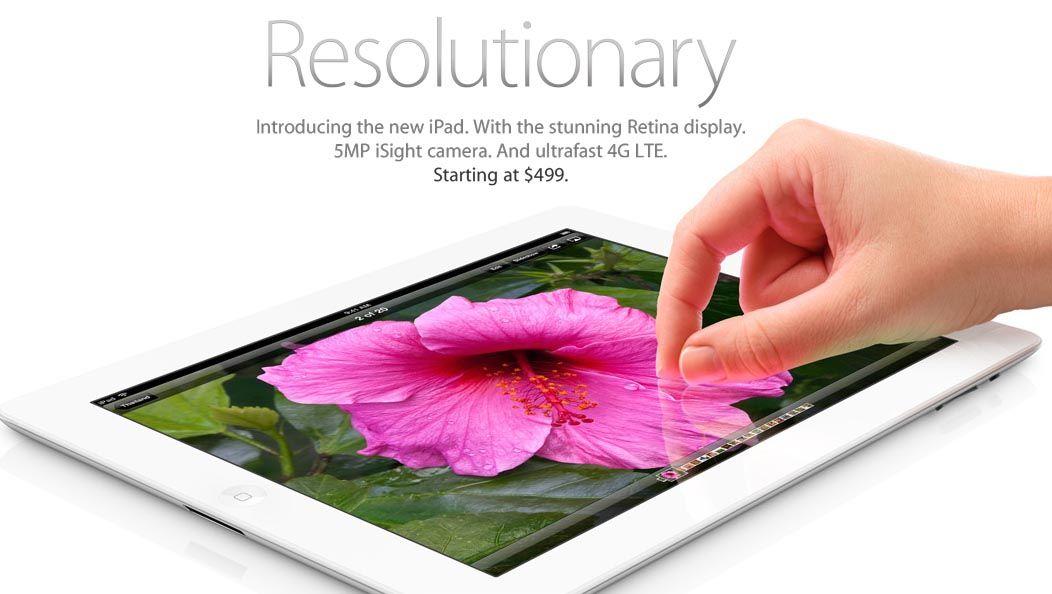 IPad 3 (The new iPad) официальное видео