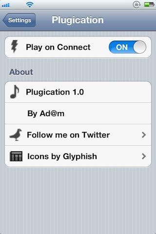 Твик Plugication автоматически включит воспроизведение музыки при подключении наушников [Скачать / Cydia / Обзор]