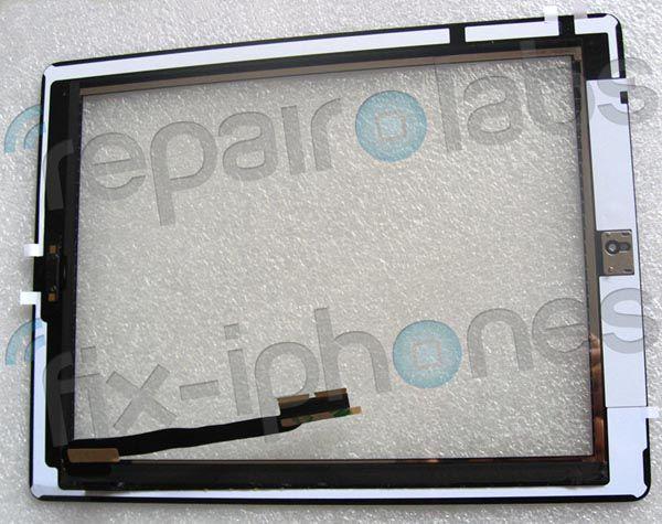 На новых фотографиях передней панели предполагаемого IPad 3 присутствует кнопка Home