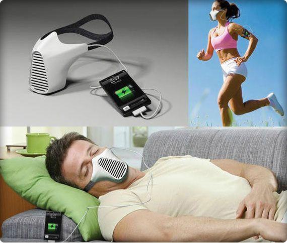 AIRE: Вы дышите - телефон заряжается!