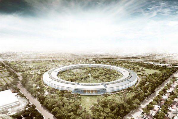 Новые подробности о кампусе Apple в Купертино