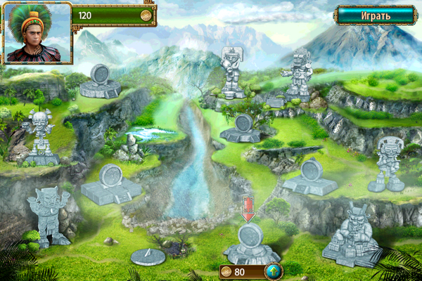The Treasures of Montezuma 2 (Сокровища Монтесумы 2) – классика, проверенная временем [Скачать / App Store / Обзор]