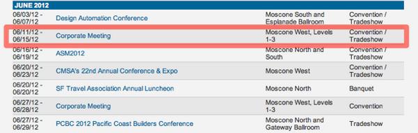 WWDC 2012 пройдет с 11-15 июня?