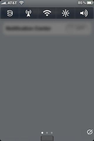 Твик NCSettings добавит функционал SBSettings в Вашем центре уведомления для iPhone, iPad и iPod [Скачать / Cydia / Обзор]