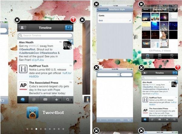 Твик CardSwitcher 2.0 достойная замена стандартной многозадачности на iPhone, iPad, iPod [Скачать / Cydia / Обзор]