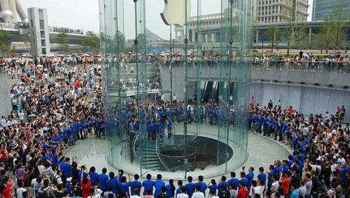 Самый большой в мире Apple Store будет построен в Китае