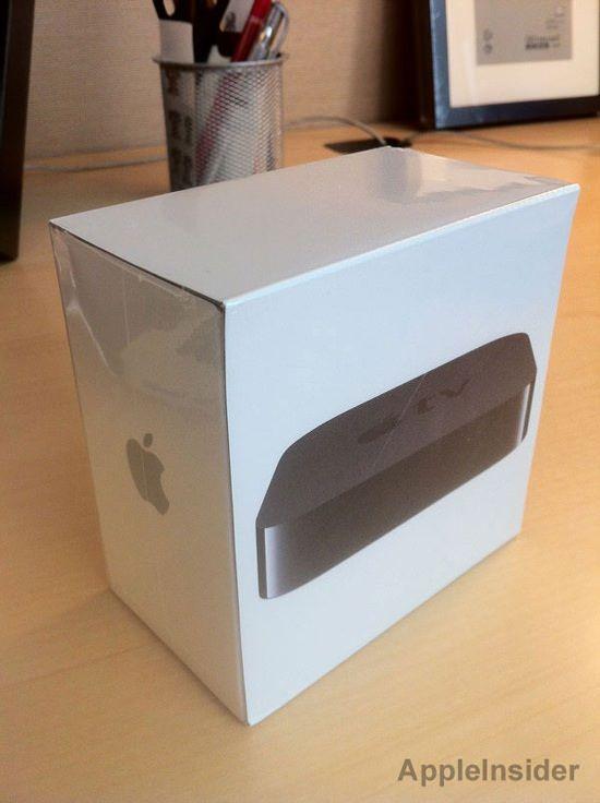 Начались поставки нового Apple TV 1080p [Фото]