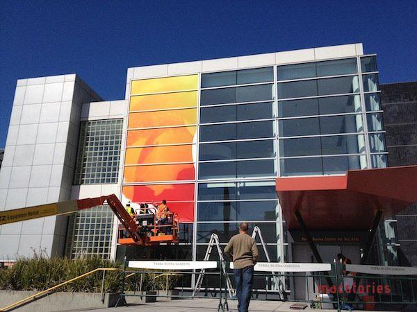 Yerba Buena Center готовят к презентации iPad 3