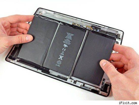 Apple удалось увеличить время автономной работы iPad 3