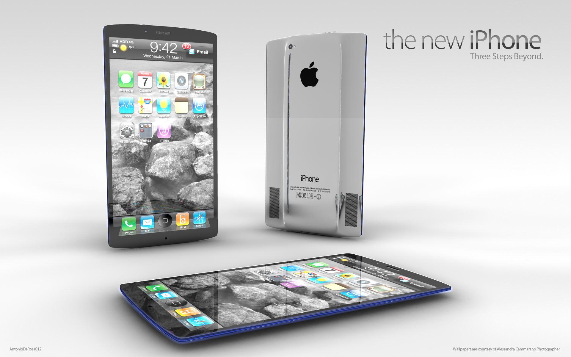 iPhone 5. Новые фото [Концепт]