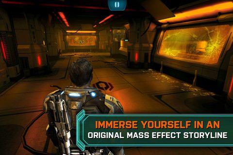 Mass Effect Infiltrator [Обзор / Скачать / App Store]