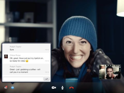Скачать Skype 3.8 для iPad 3 [App Store]