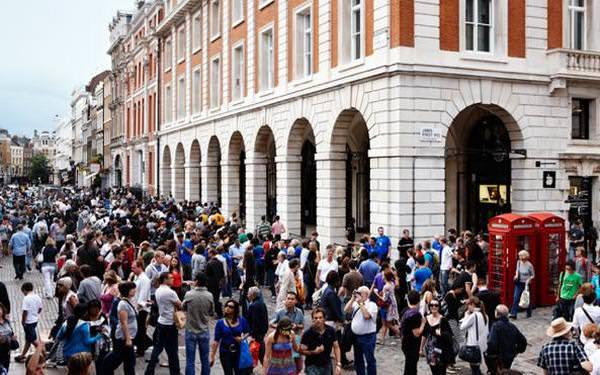 Apple Store в Лондоне готовятся к Олимпиаде