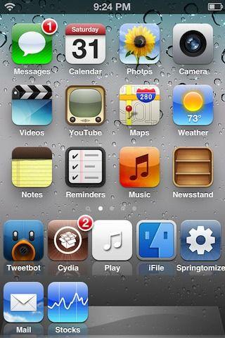 Твик DoubleDock добавляет второй ряд иконок в док на iPhone, iPod Touch [Скачать / Cydia]