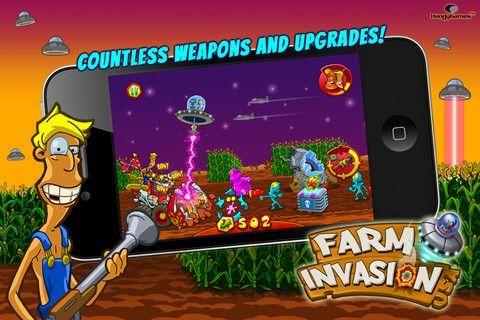Farm Invasion USA для iPhone, iPod и iPad [App Store / Обзор / Скачать]