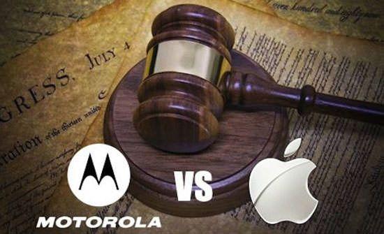 Контр-иск Apple против Motorola будет рассмотрен 5 июля